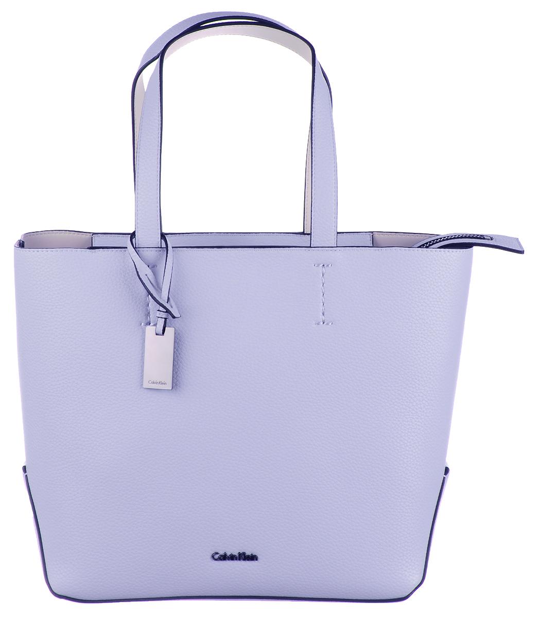 Сумка женская Calvin Klein Jeans, цвет: светло-сиреневый. K60K603833/427 блузка женская calvin klein jeans цвет синий j20j207813 4040 размер s 42 44