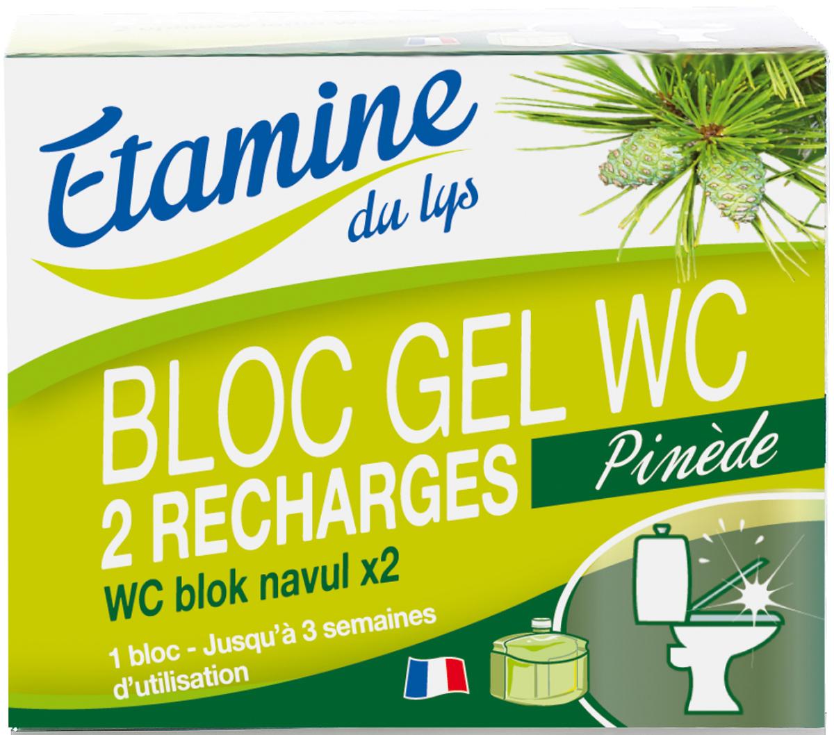 "Запасной флакон для блок-геля для туалетов ""Etamine du Lys"", 2 х 50 мл"
