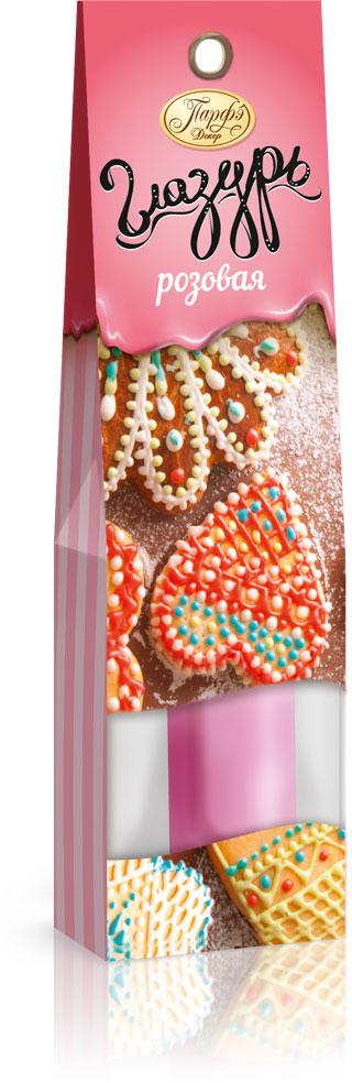 Фото - Парфэ Глазурь розовая, 30 г парфэ шоколадная глазурь 100 г