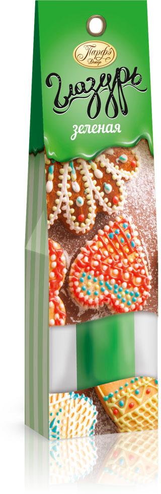 Фото - Парфэ Глазурь зеленая, 30 г парфэ шоколадная глазурь 100 г