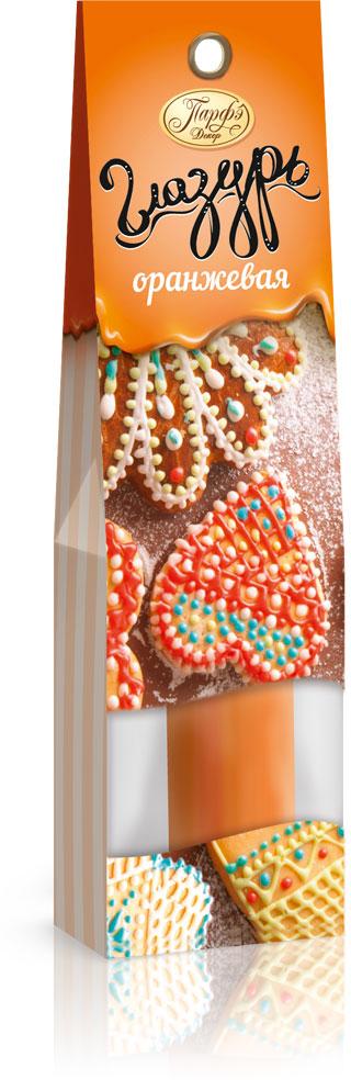 Фото - Парфэ Глазурь оранжевая, 30 г парфэ шоколадная глазурь 100 г