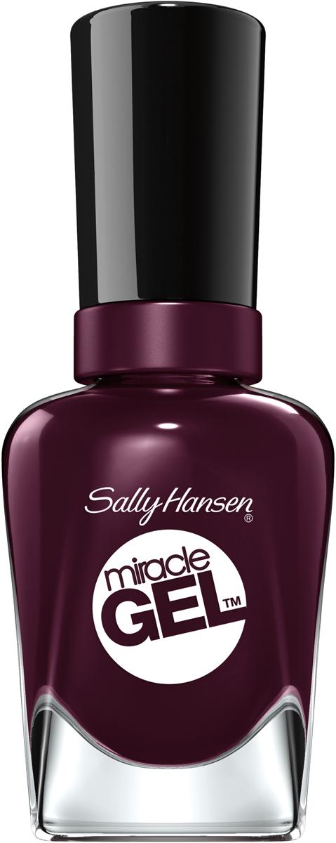 все цены на Sally Hansen Гель Лак для ногтей Miracle Gel, тон №492 Cabernet With Bae, 14 мл онлайн