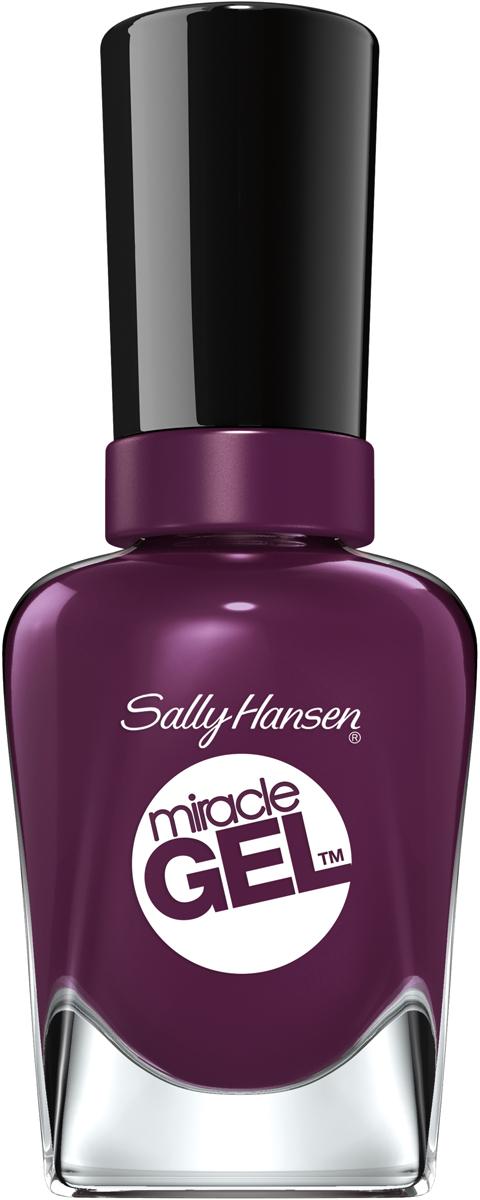 Sally Hansen Гель Лак для ногтей Miracle Gel, тон №572 Wild For Violet, 14 мл sally hansen гель лак для ногтей miracle gel тон 256 proper p rose 14 мл