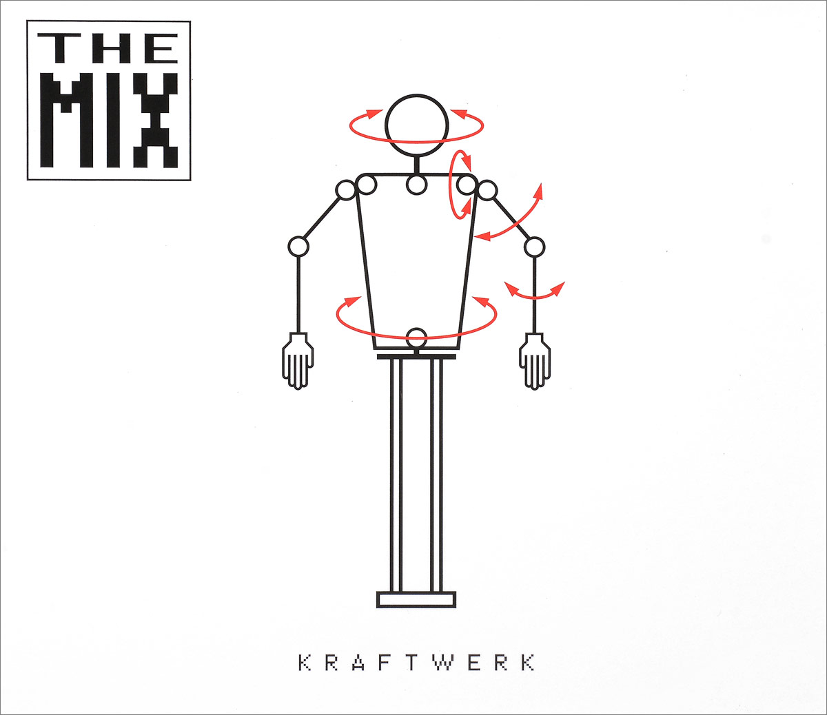 Kraftwerk Kraftwerk. The Mix цена
