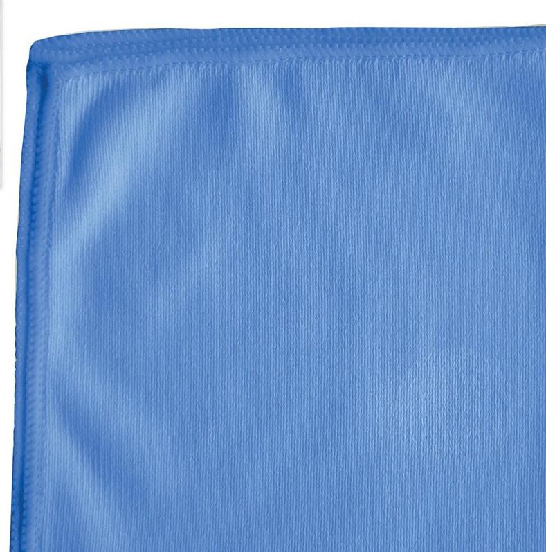 Салфетка для оптики и стекла Лайма Офисная, цвет: синий, 30 х 30 см. 601256 салфетка для ухода за стеклянными поверхностями smart glass из микрофибры 30 х 30 см