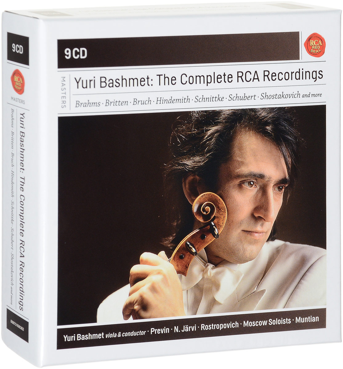 лучшая цена Юрий Башмет Yuri Bashmet. Yuri Bashmet - The Complete RCA Recordings (9 CD)
