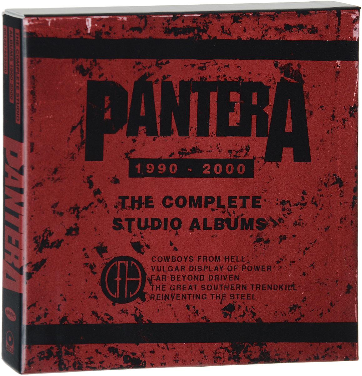 Pantera Pantera. The Complete Studio Albums 1990-2000 (5 CD) pantera pantera the great southern trendkill 2 lp 180 gr