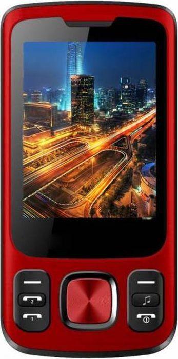 Мобильный телефон Vertex S107, красный телефон
