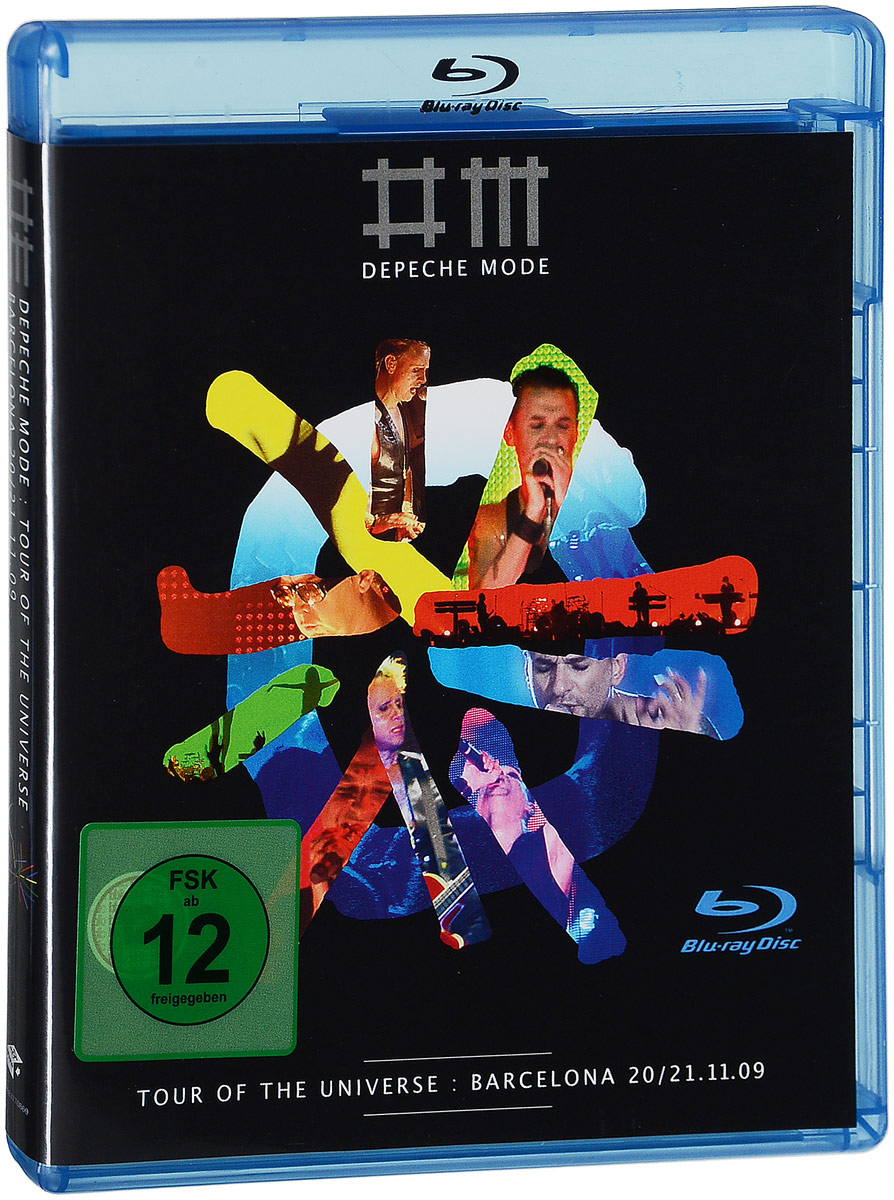 Depeche Mode: Tour Of The Universe - Barcelona 20/21:11:09 (2 Blu-ray) marvel universe live