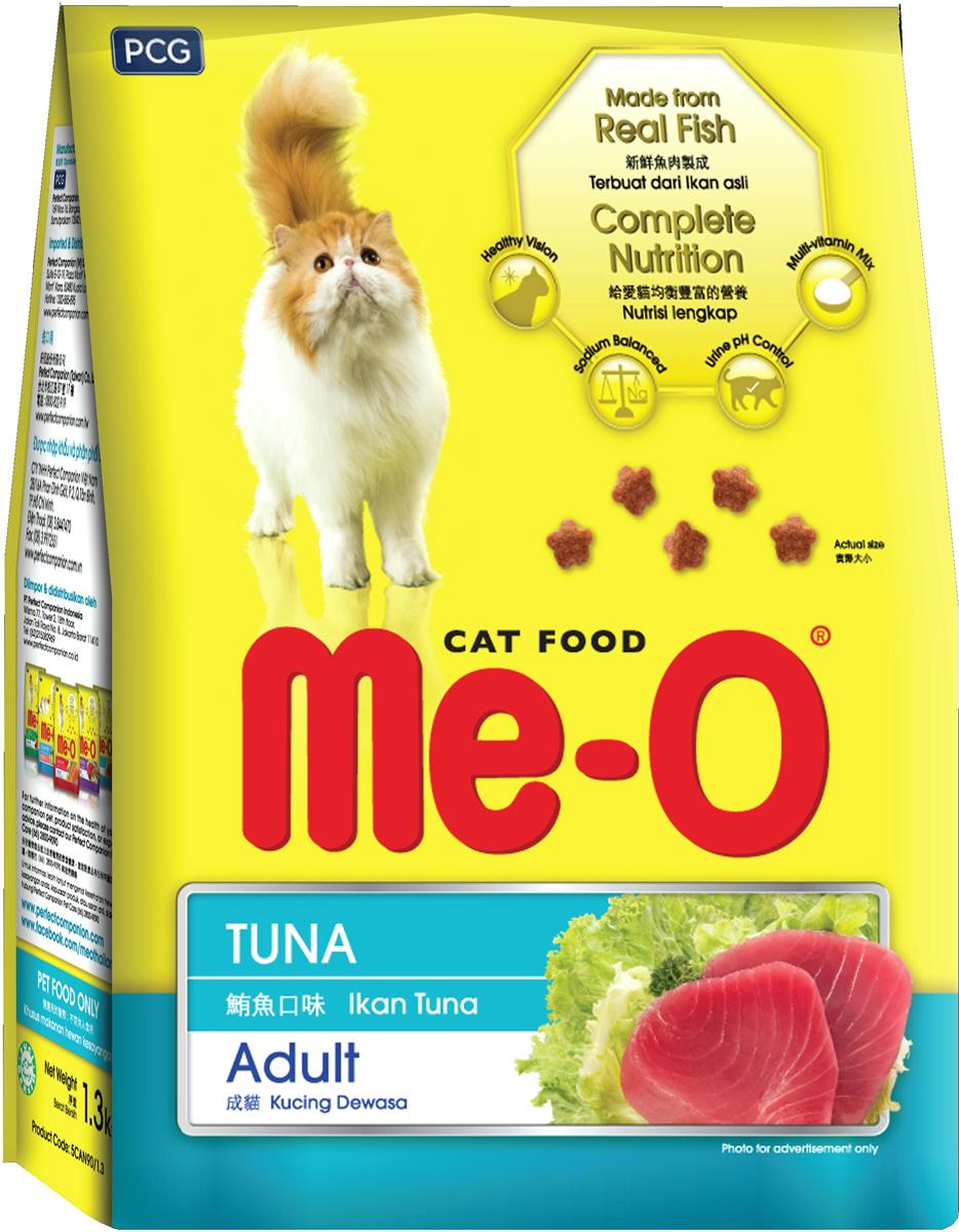 Корм сухой для кошек и котов PCG Ме-О, тунец, 200 г, 35 шт паучи для кошек и котов pcg ме о сардина с курицей и рисом в желе 80 г