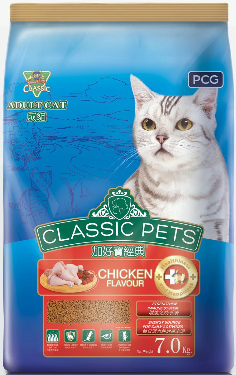 "Корм сухой для кошек PCG ""Классик"", курица, 200 г, 35 шт"