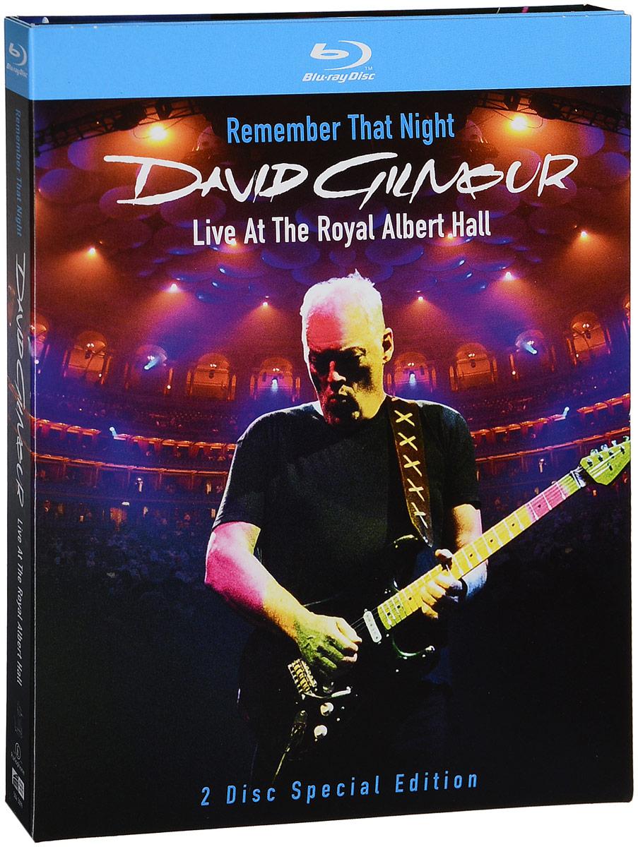 David Gilmour. Remember That Night - Live At The Royal Albert Hall (2 Blu-Ray)