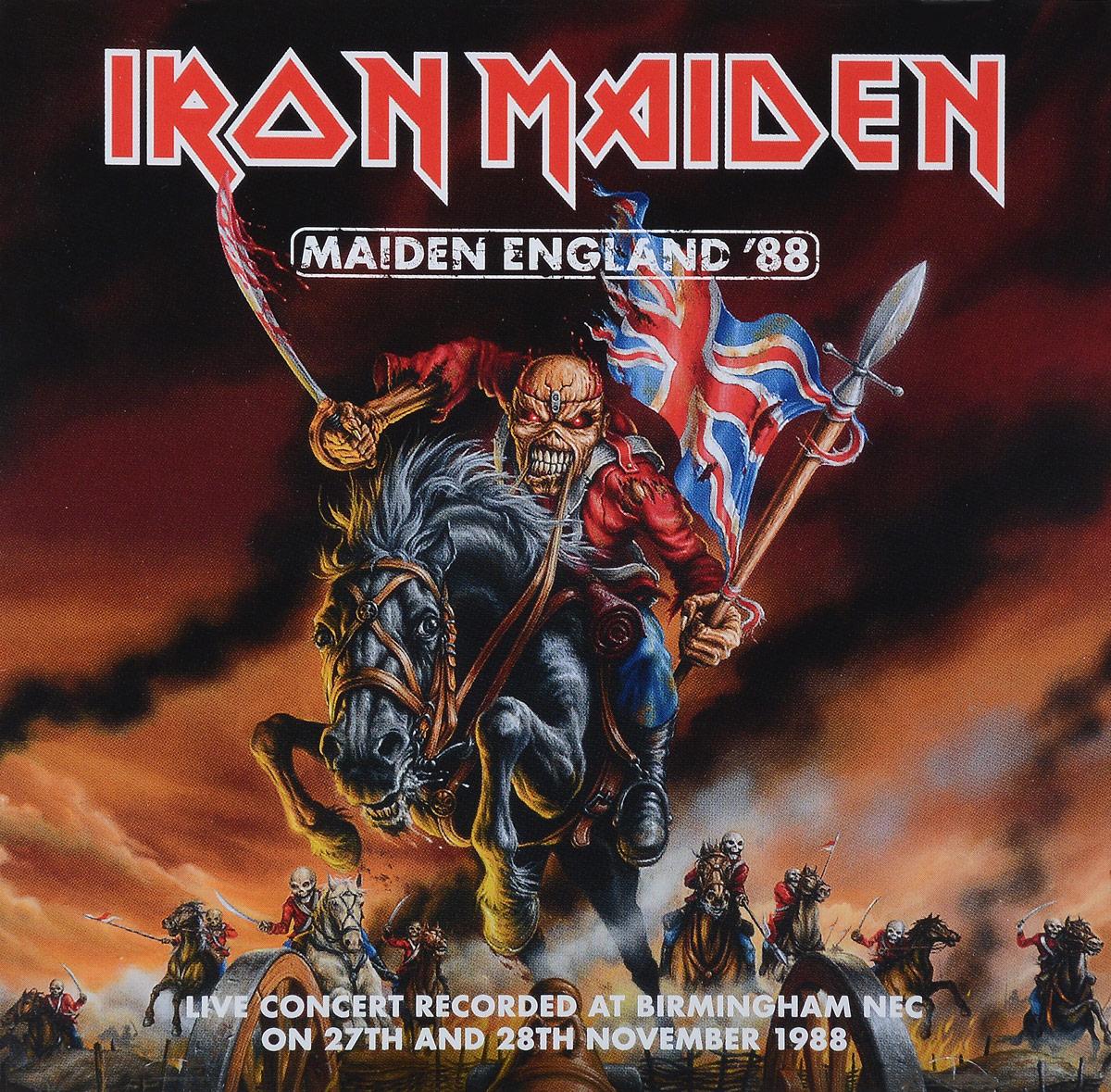 Фото - Iron Maiden Iron Maiden. Maiden England '88 (2 CD) iron maiden iron maiden powerslave