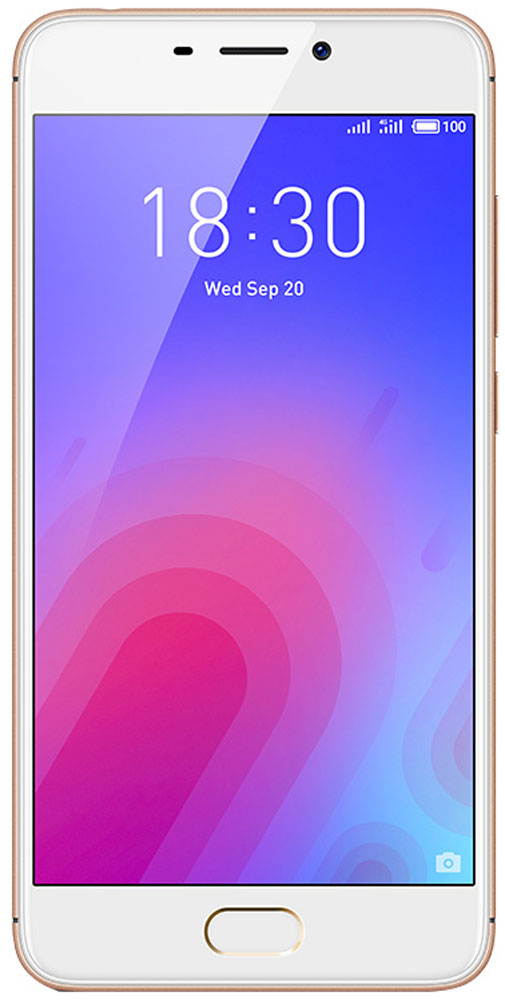 Смартфон Meizu M6 Note 3/16GB gold смартфон meizu m6 note 3 32gb black