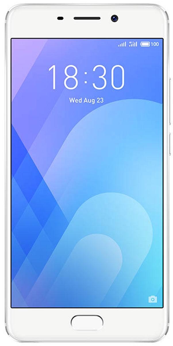 Смартфон Meizu M6 Note 16 GB, серебристый все цены