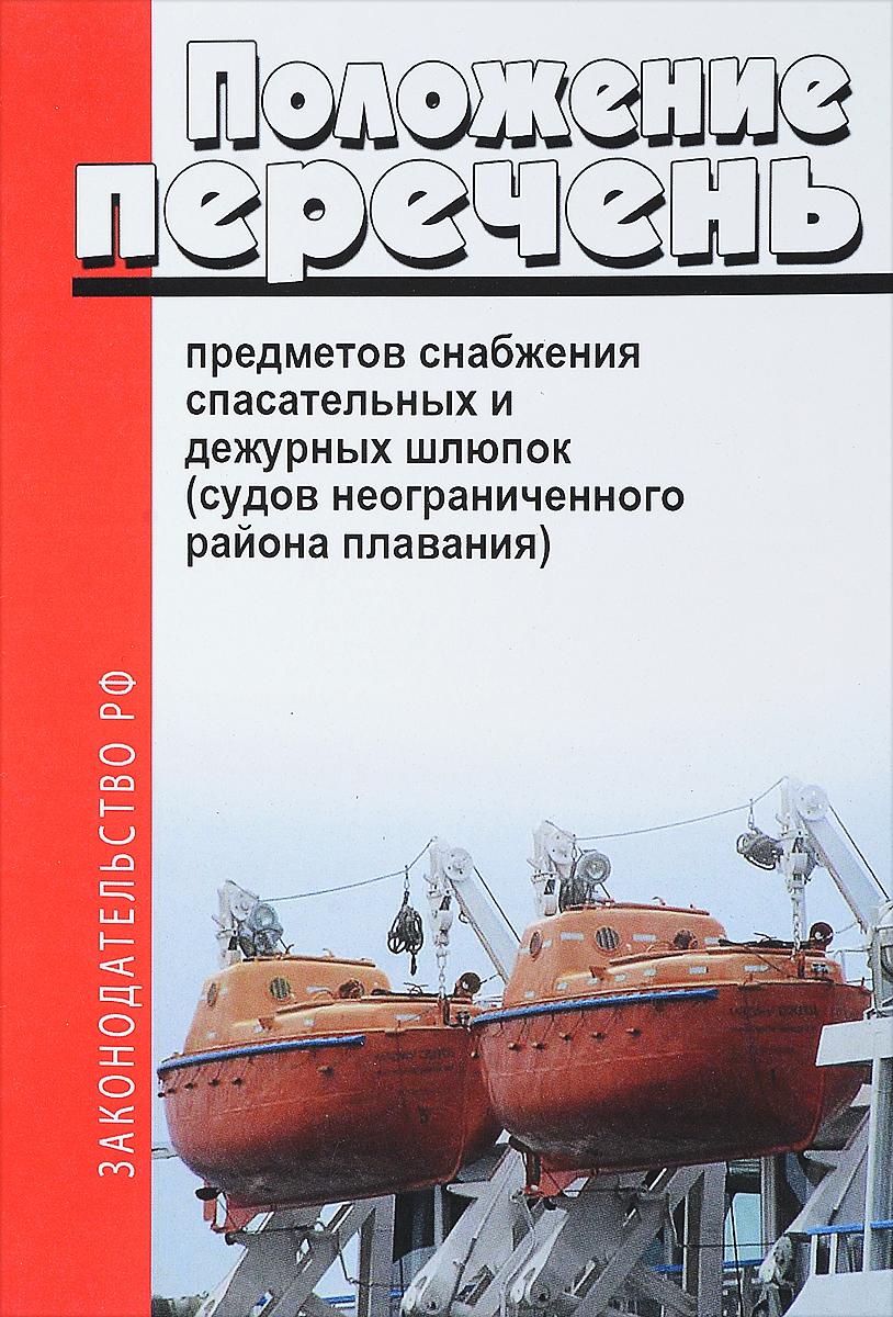 Типовой перечень предметов снабжения спасательных и дежурных шлюпок (судов неограниченного района плавания) Форма Типового перечня предметов...