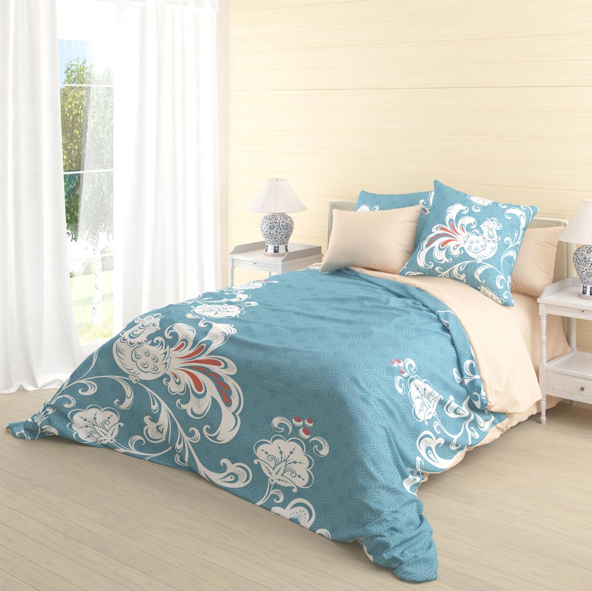 Комплект белья Волшебная ночь Divo, 1,5-спальный, наволочки 70х70 см комплект белья волшебная ночь divo 2 спальный наволочки 70х70 см