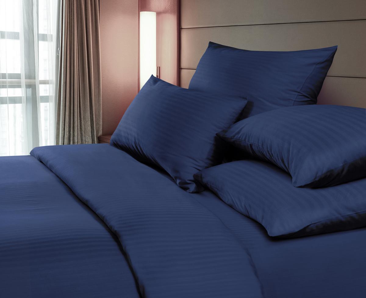 """Комплект белья """"Verossa"""", 1,5-спальный, наволочки 70х70 см, цвет: черничный"""