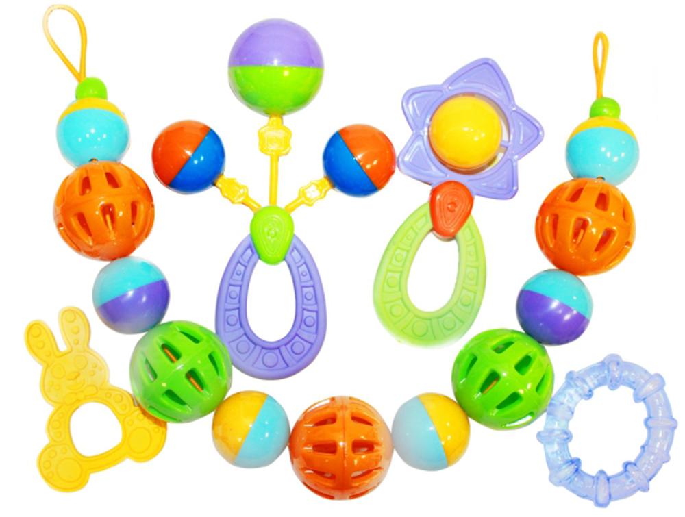 Фото - Пластмастер Набор погремушек для малышей игры и игрушки в дорогу пластмастер подвеска на коляску пластмастер конфетка