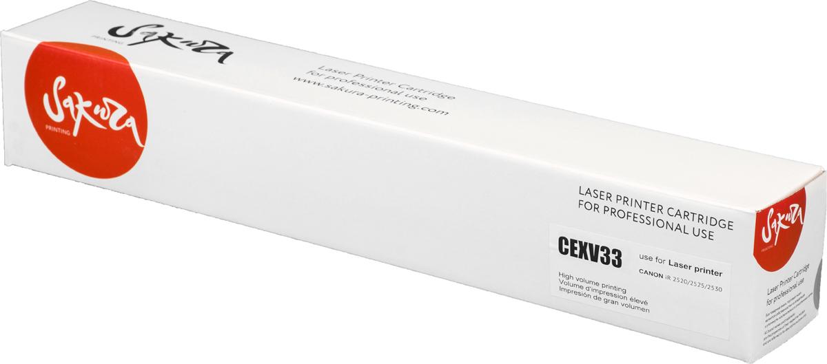 Картридж Sakura CEXV33, черный, для лазерного принтера картридж sakura tk475