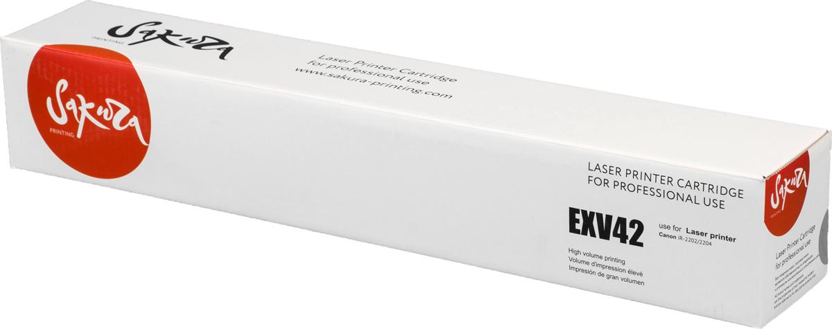 Картридж Sakura CEXV42, черный, для лазерного принтера картридж sakura tk475