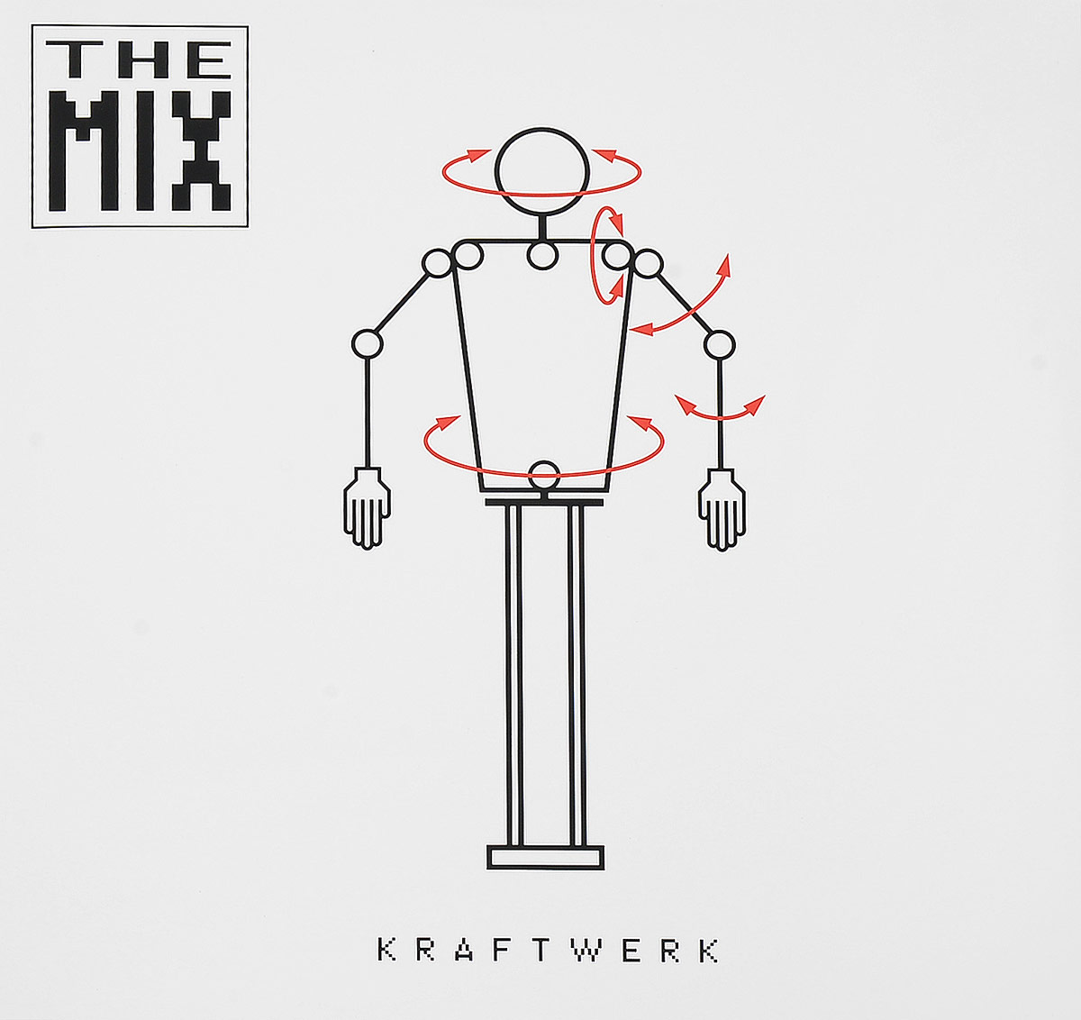 Kraftwerk Kraftwerk. The Mix (2 LP) цена