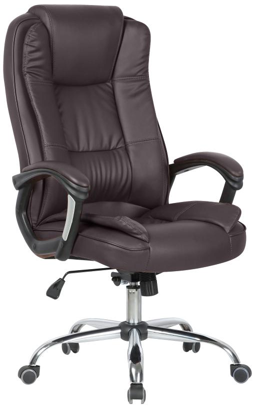 Кресло офисное College CLG-616 LXH, цвет: коричневый кресло руководителя college bx 3233 3323