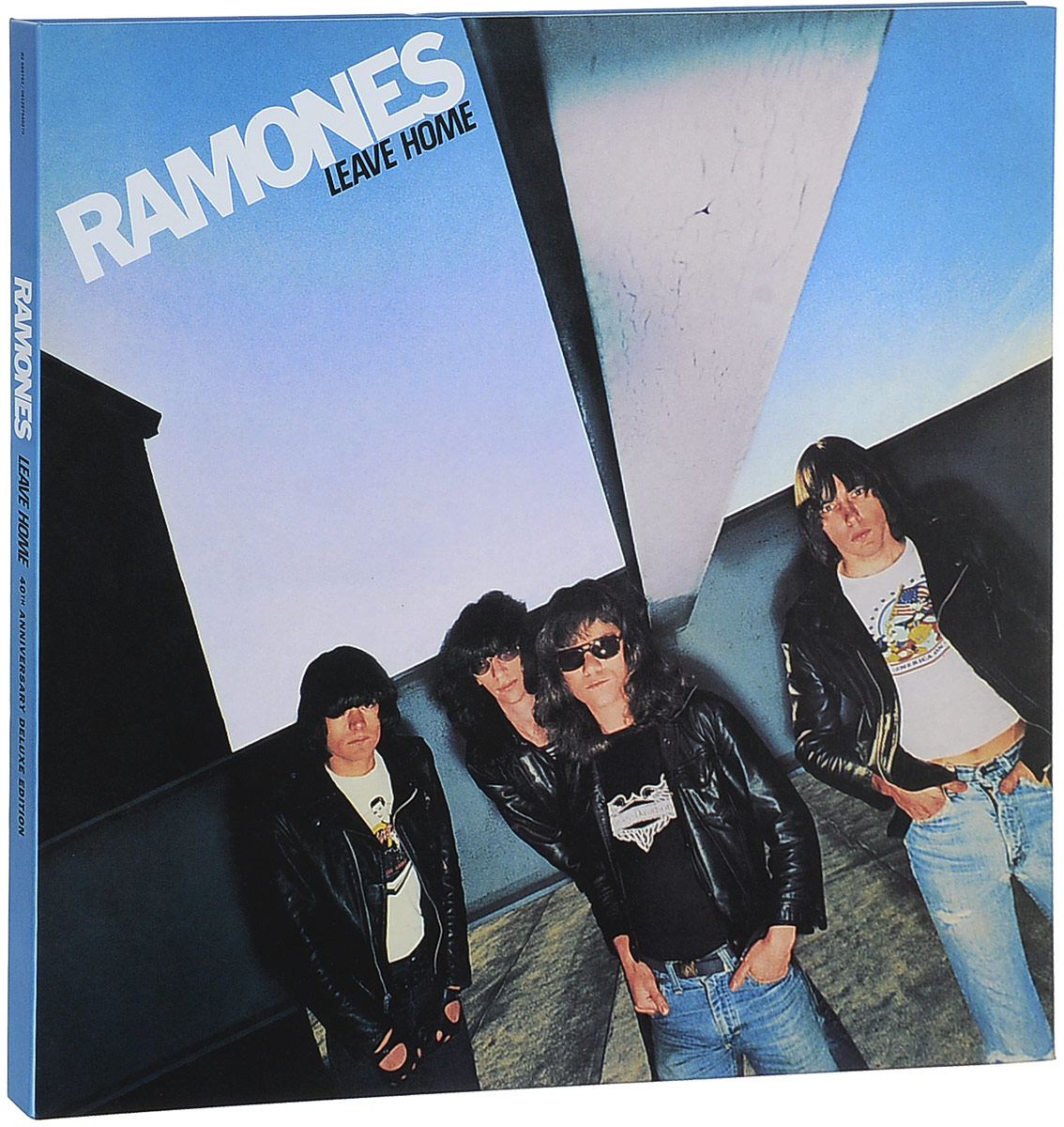 Ramones. Leave Home (40Th Anniversary) (LP + 3 CD) odessey and oracle 40th anniversary live concert