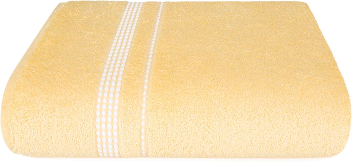 Полотенце махровое Aquarelle Лето, цвет: светло-желтый, 70 x 140 см полотенце махровое aquarelle лето цвет орхидея 70 x 140 см