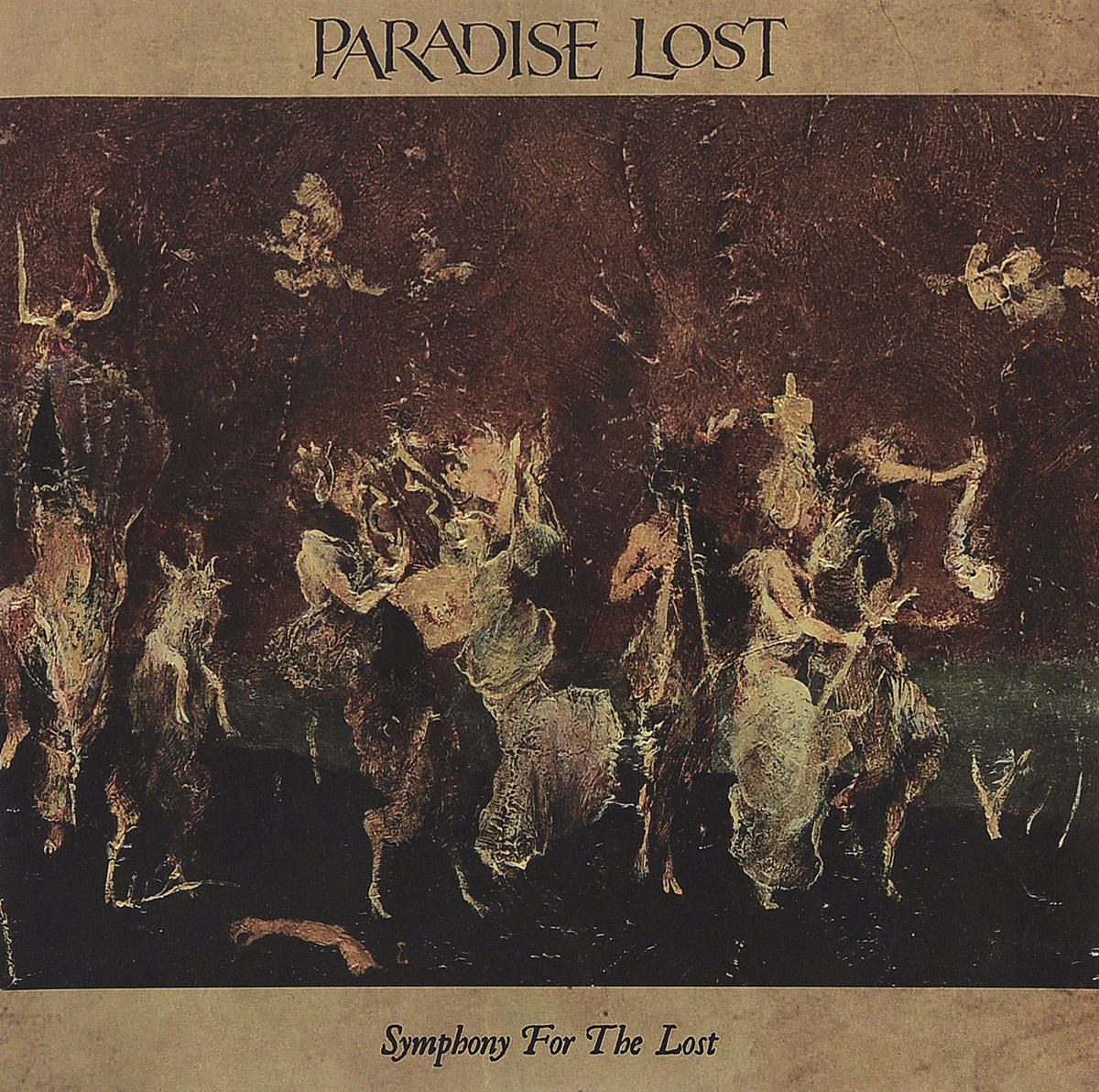 Paradise Lost Paradise Lost. Symphony For The Lost (2 LP + DVD) paradise lost paradise lost icon