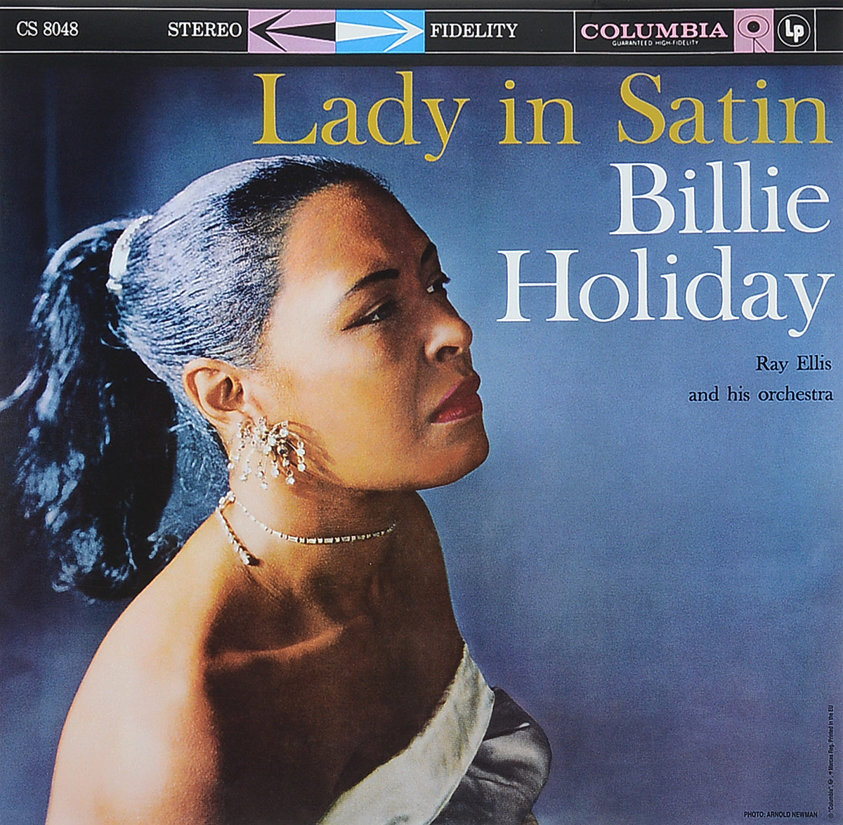 Билли Холидей,Рей Эллис,His Orchestra Billie Holiday, Ray Ellis And His Orchestra. Lady In Satin (LP) цена и фото