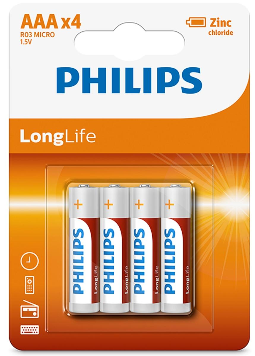 Батарейка солевая Philips