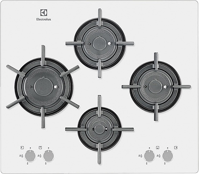 Варочная панель Electrolux, газовая, встраиваемая, EGT 96647LW Electrolux