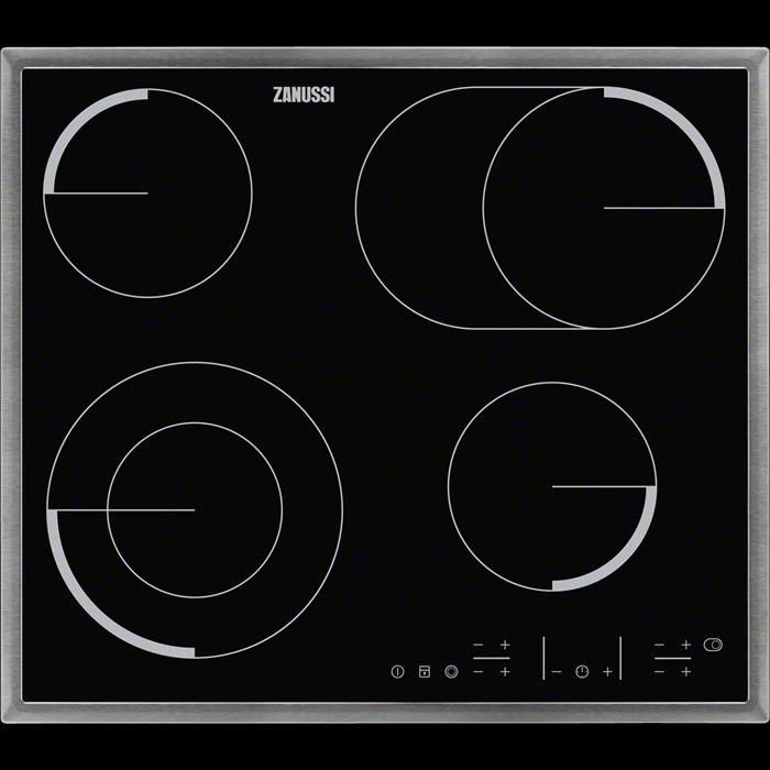 Варочная панель Zanussi CPZ 6466KX, электрическая, черный