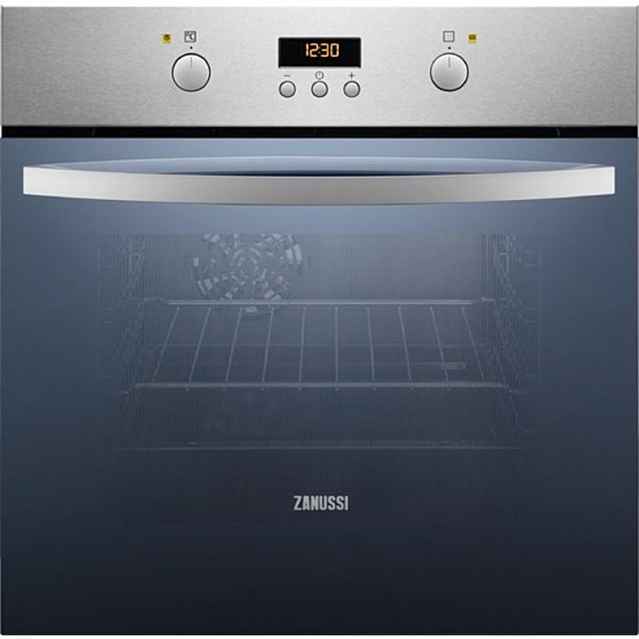 Встраиваемый духовой шкаф Zanussi OPZA4210X, серебристый встраиваемый электрический духовой шкаф zanussi zzb 510401w