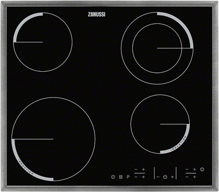 Варочная панель Zanussi ZEN 6641XBA, электрическая, черный