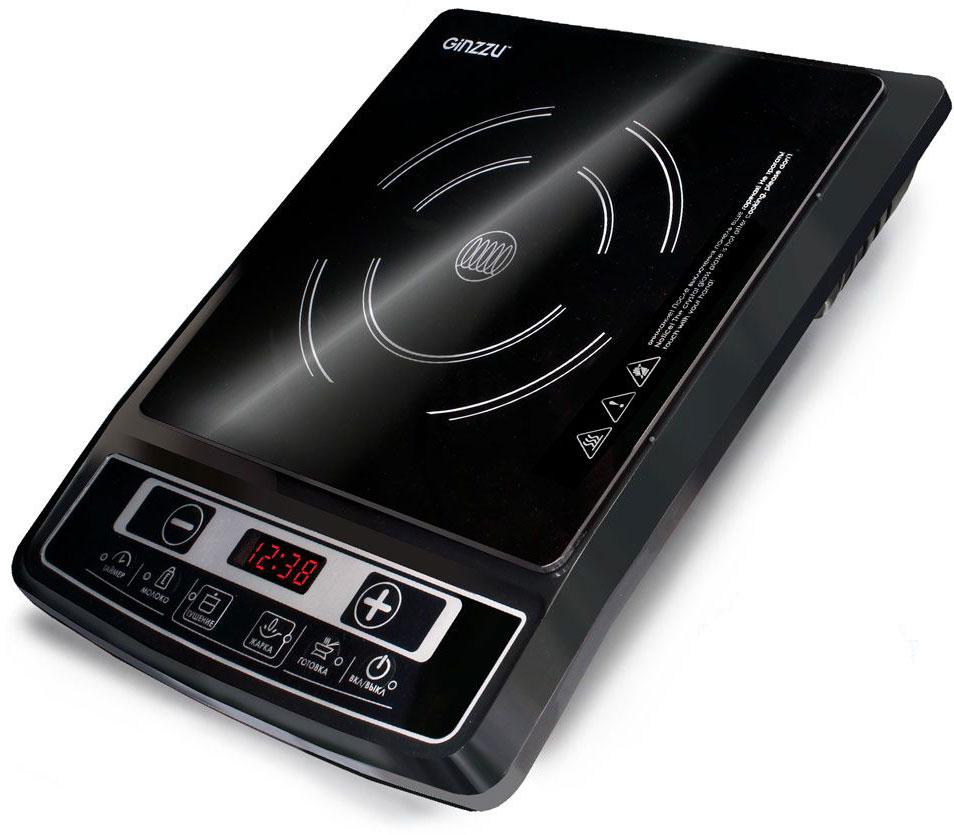 Настольная плита Ginzzu HCI-102, Black индукционная настольная плита ginzzu hci 226