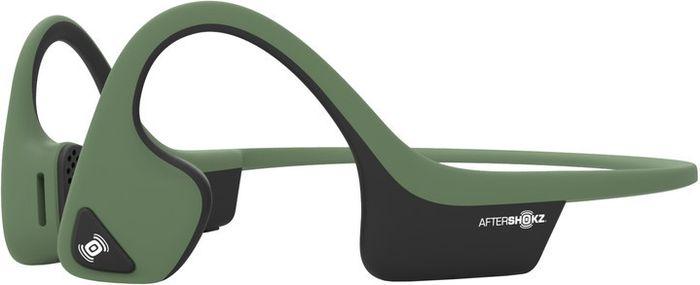 Беспроводные наушники Aftershokz Trekz Air, зеленый