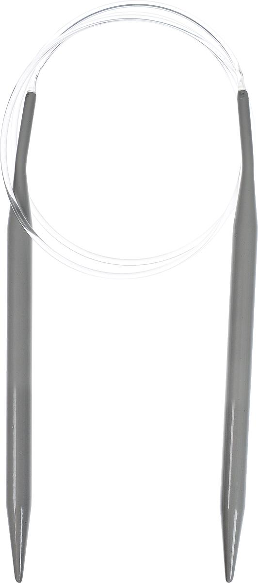 Спицы Hobby & Pro, алюминиевые, круговые, диаметр 7 мм, длина 80 см7701430Спицы для вязания Hobby & Pro изготовлены из высококачественного алюминия с покрытием. Кончики спиц закругленные. Спица к основанию сужается и имеет небольшой изгиб, который облегчает перекидывание петель. Спицы скреплены гибким пластиковым шнуром. Спицы прочные, легкие, гладкие, удобные в использовании. Круговые спицы наиболее удобны для выполнения деталей и изделий, не имеющих швов. Короткими круговыми спицами вяжут бейки горловины, воротники-гольф, длинными спицами можно вязать по кругу целые модели. Вы сможете вязать для себя, делать подарки друзьям. Рукоделие всегда считалось изысканным, благородным делом. Работа, сделанная своими руками, долго будет радовать вас и ваших близких.