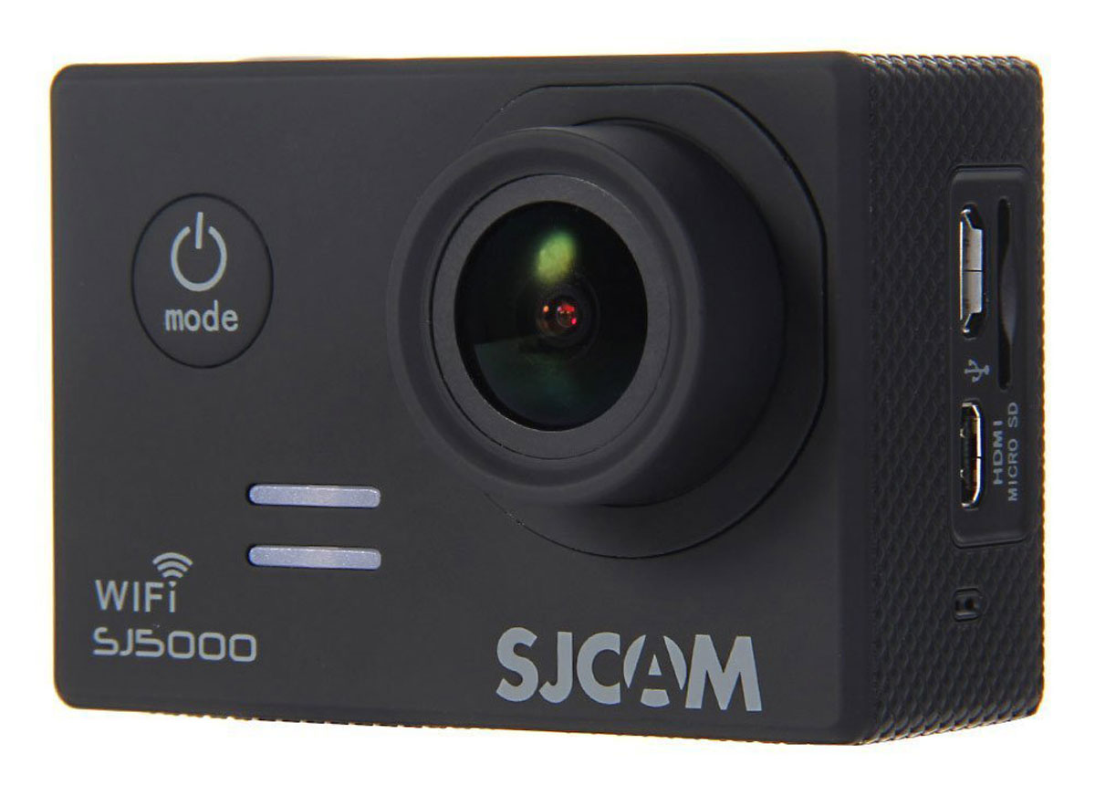 SJCAM SJ5000 WiFi, Black экшн-камера экшн камера sjcam sj4000 wi fi gold