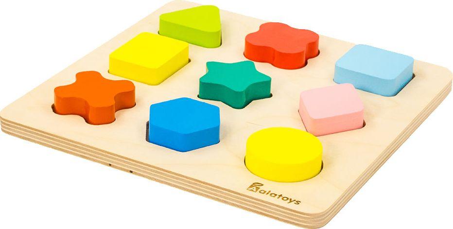 Обучающая игра Alatoys СОР23 красный, желтый, оранжевый, зеленый alatoys сортер сор05