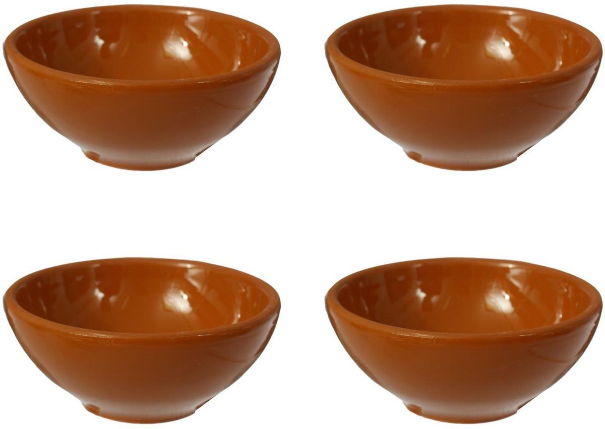 Розетка Борисовская керамика Стандарт, 200 мл, 4 шт розетка для варенья борисовская керамика красный 200 мл
