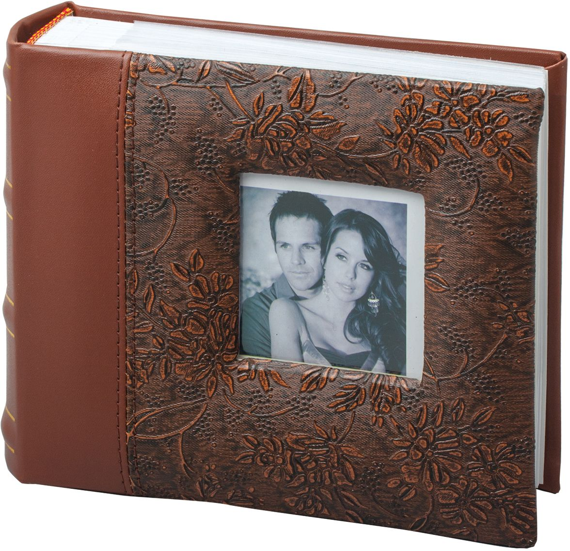 Фотоальбом Brauberg, с рамкой для фото, 100 фотографий, 10 x 15 см. 390693 фотоальбом platinum классика 240 фотографий 10 x 15 см