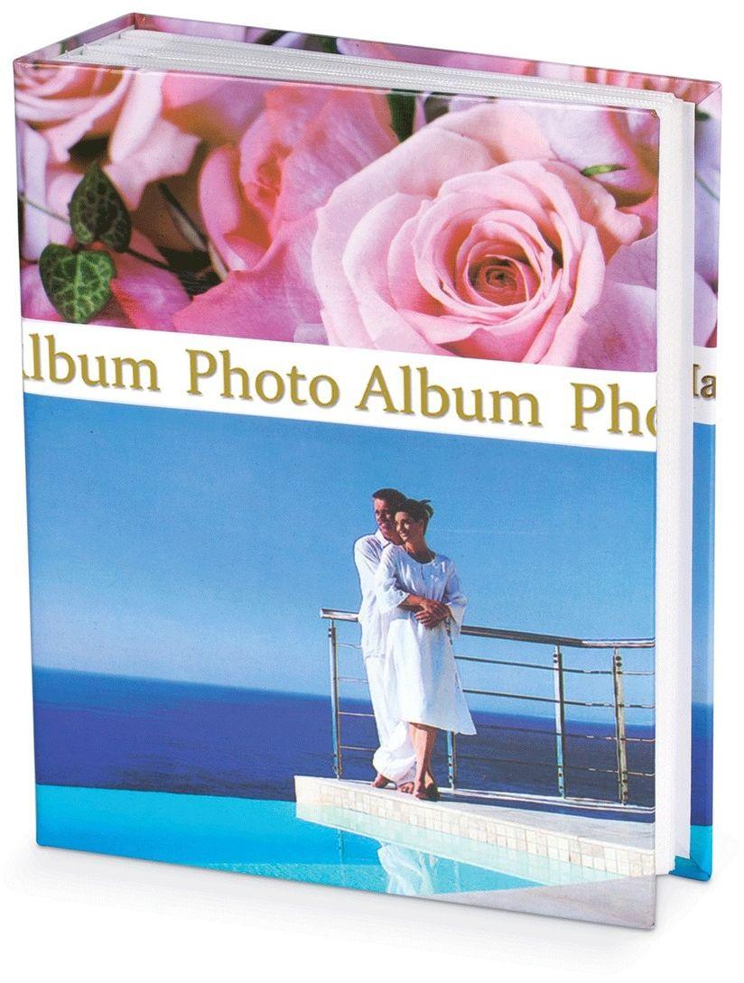 Фотоальбом Brauberg Романтика, 300+4 фотографии, 10 x 15 см. 390675 фотоальбом platinum классика 240 фотографий 10 x 15 см