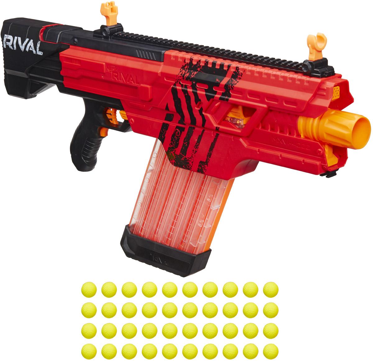 Бластер Nerf Rival Khaos, B3858, красный бластер наша игрушка бластер цвет в ассортименте 20112011