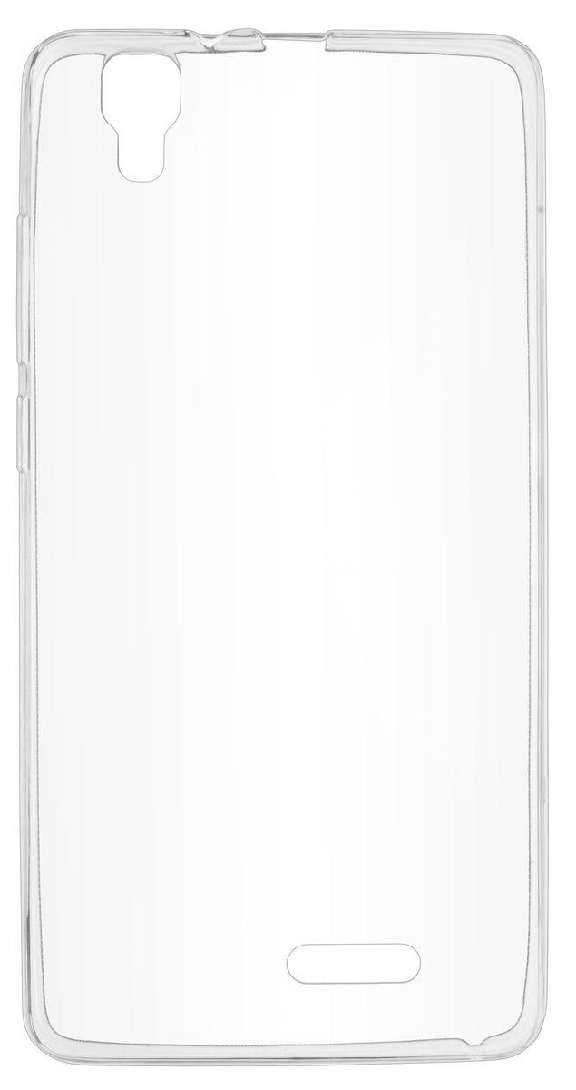 Skinbox Slim Silicone чехол-накладка для Prestigio Grace R5 LTE (PSP5552), Transparent цена и фото