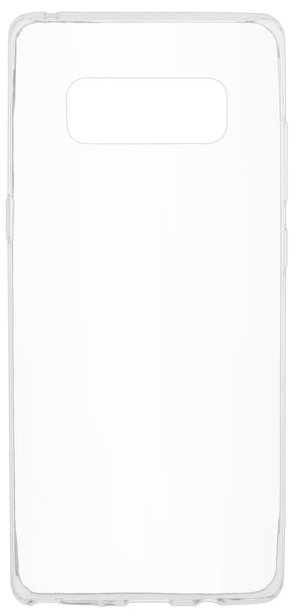 Skinbox Slim Silicone чехол-накладка для Samsung Galaxy Note 8, Transparent skinbox накладка skinbox slim silicone для samsung galaxy note 7
