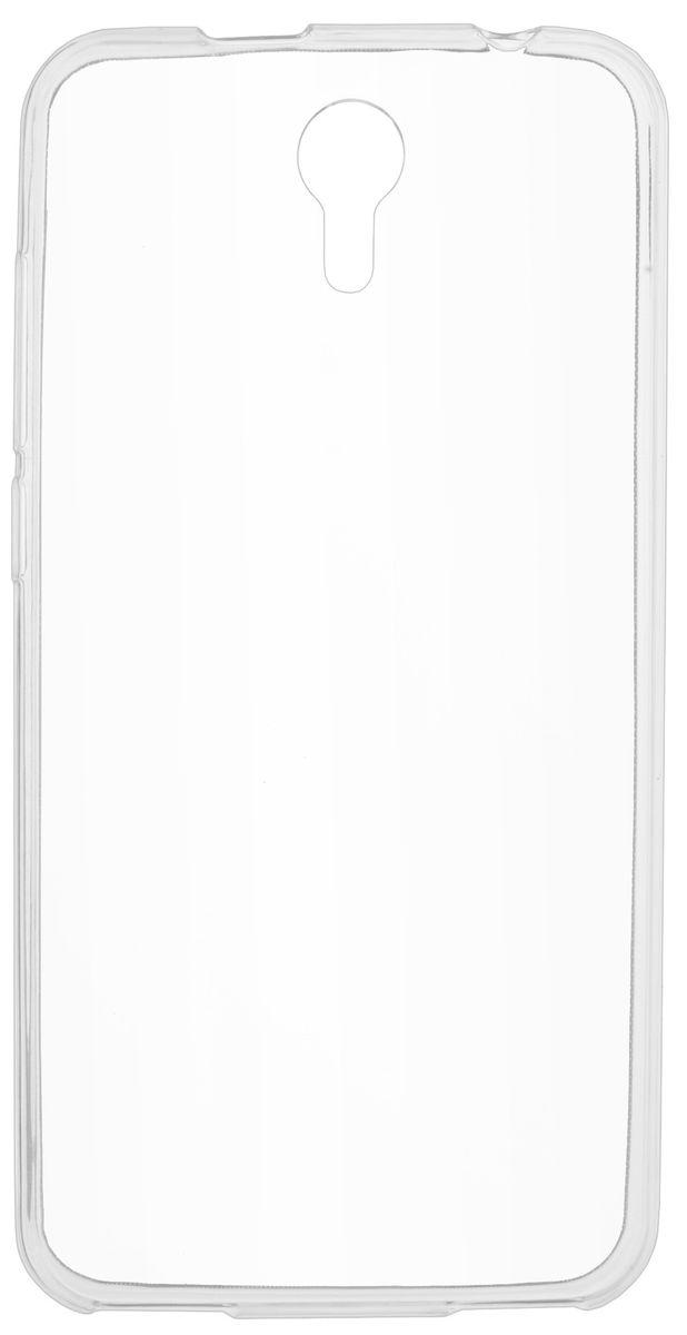 Skinbox Slim Silicone чехол-накладка для Prestigio Muze B3/B7 (PSP3511/7511) , Transparent цена и фото