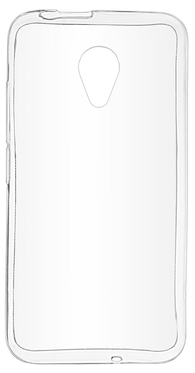 Skinbox Silicone Case чехол-накладка для Fly FS407 Stratus 6, Transparent цена