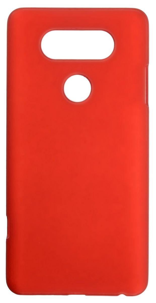 Skinbox 4People чехол-накладка для LG V20, Red skinbox накладка skinbox slim silicone для lg v20